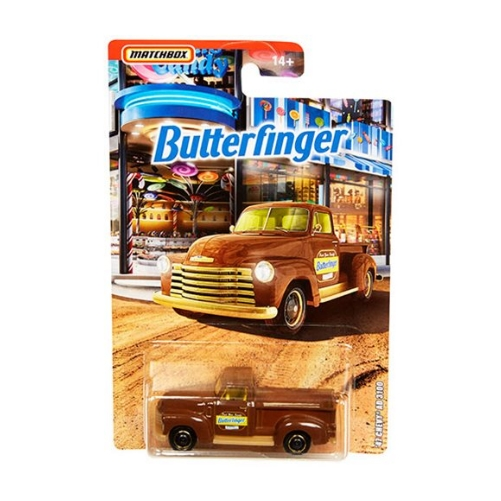 Matchbox Candy Theme 47 Chevy AD 3100 Butterfinger - 2020 - Chocolate