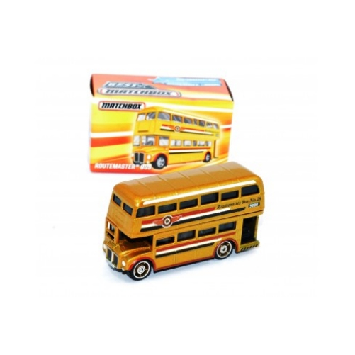 Matchbox Box Routemaster Bus - 2020 - Dorado - Panamá