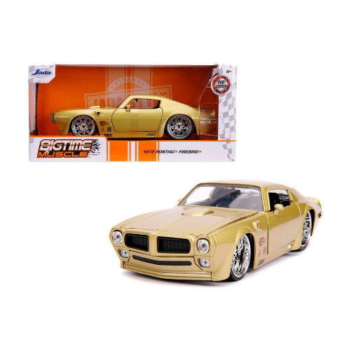 Jada Big Time Muscle 1972 Pontiac Firebird 1:24 - 2020 - Dorado - Panamá