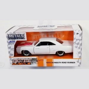 Jada Big Time Muscle 1970 Plymouth Road Runner 1:32 - 2020 - Blanco