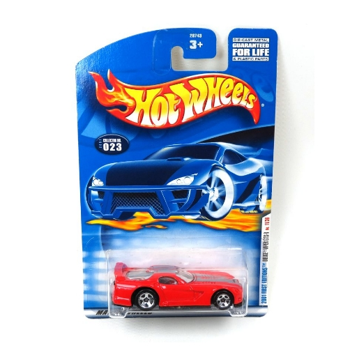 Hot Wheels 2001 Dodge Viper GTS-R First Edition - 2020 - Rojo
