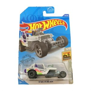 Hot Wheels 42 Willys MB Jeep - 2020 - Blanco