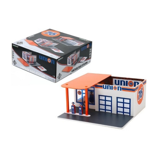 Greenlight Diorama Gas Station Union 76 - 2020