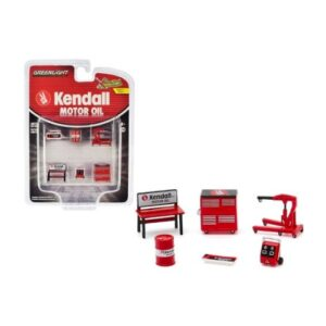 Greenlight Accesories Kendall Motor Oil - 2020