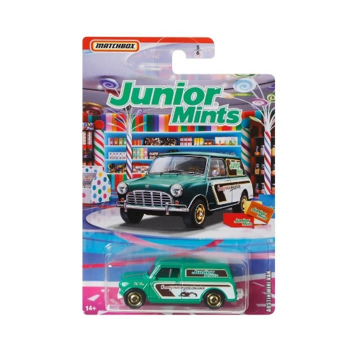 Matchbox Candy Theme 2020 Austin Mini Van - 2020 - Verde