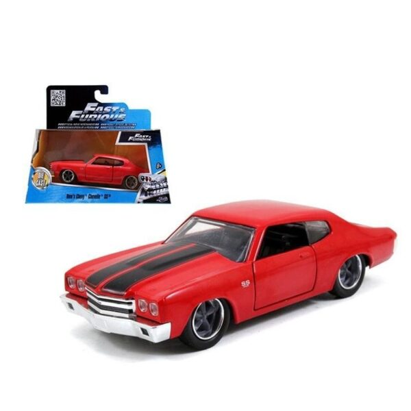 Jada Fast and Furious Dom's Chevy Chevelle SS 1:32 - 2020 - Rojo