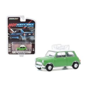 Greenlight Hot Hatches 1965 Austin Mini Cooper S - 2020 - Verde
