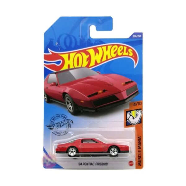 Hot Wheels 84 Pontiac Firebird Case N - 2020 - Rojo