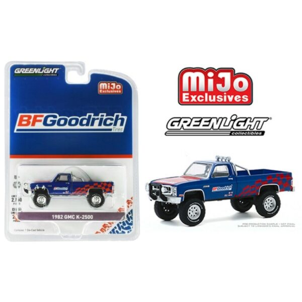 Greenlight 1982 GMC K-2500 BFGoodrich - 2020 - Azul