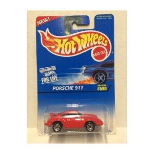 Hot Wheels 1997 Porsche 911 - 2020 - Rojo