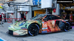 PORSCHE 911 RSR TEAM PROJECT 1 REAL EN LE MANS 2019