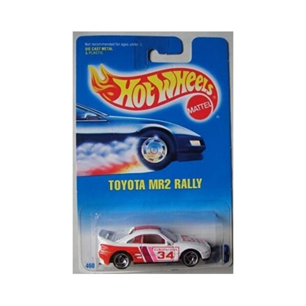 Hot Wheels 1991 Toyota MR2 - Blanco