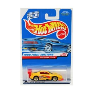 Hot Wheels 1997 Pikes Peak Celica Pennzoil - Amarillo