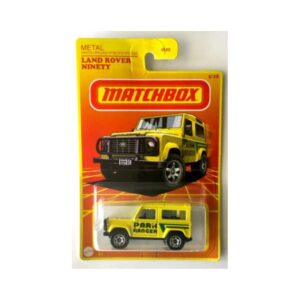 Matchbox 2020 Land Rover Ninety - Amarillo