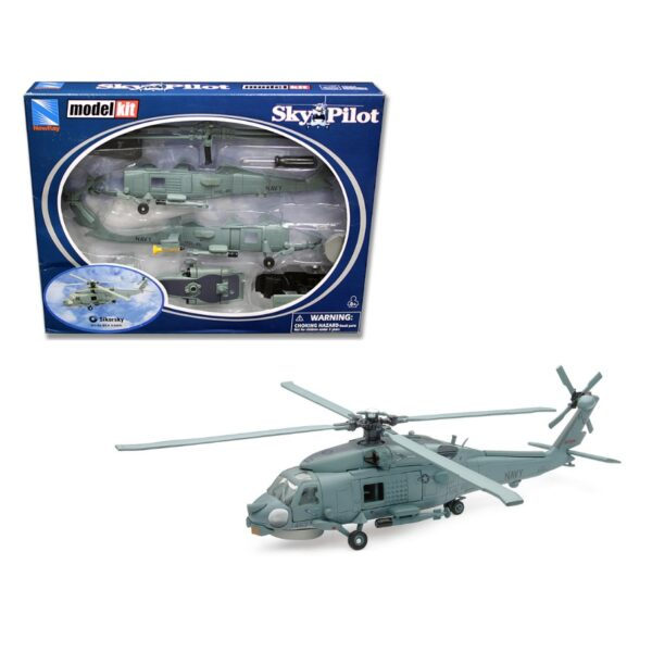 New Rays 1:55 Silkorsky SH-60 Sea Hawk Model Kit
