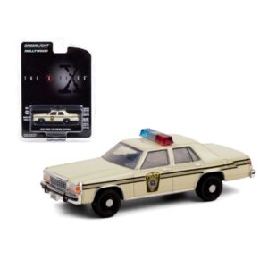Greenlight Hollywood 1983 Ford LTD Crown Victoria Police Thwe X Files - Crema